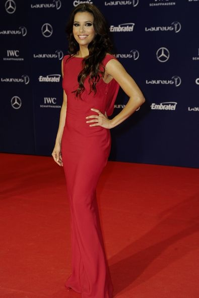 Eva Longoria at the Laureus World Sports Awards 2013
