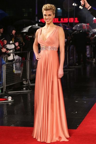 Adrianne Palicki at the London Premiere of G.I. Joe: Retaliation