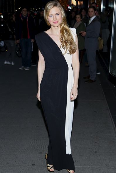 Brit Marling at the New York Premiere of The Company You Keep