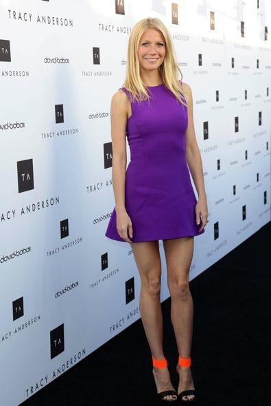 Gwyneth Paltrow at the Tracy Anderson Flagship Studio Opening