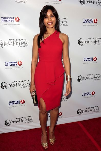 Freida Pinto at the Indian Film Festival of Los Angeles 2013 Opening Night Gala
