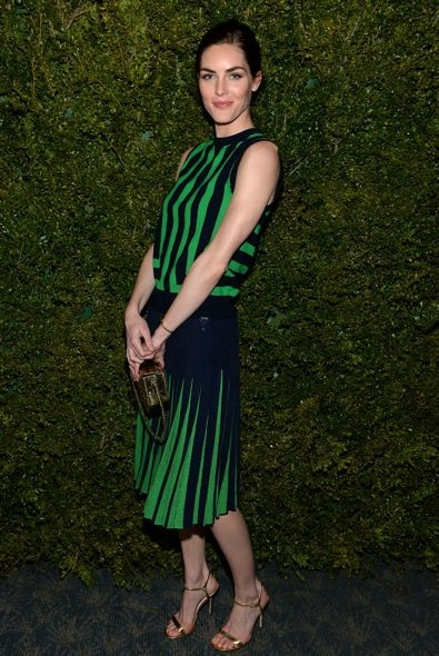 Hilary Rhoda at the Michael Kors and United Nations World Food Programme Dinner