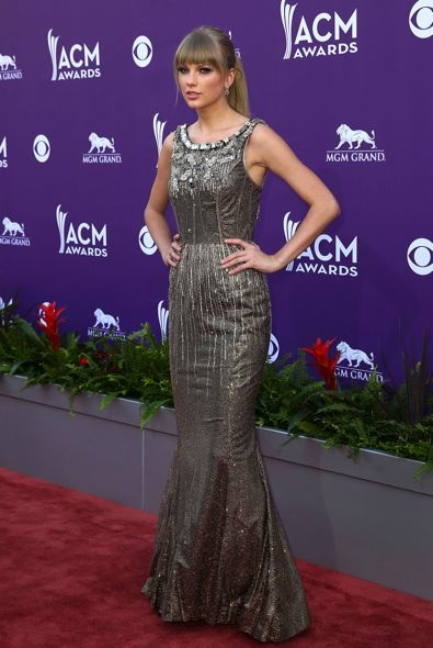 Taylor Swift at the 48th Annual Academy of Country Music Awards