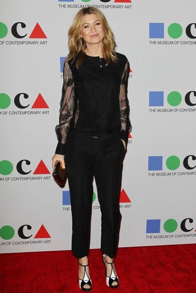 Ellen Pompeo at the Yesssss! MOCA Gala 2013