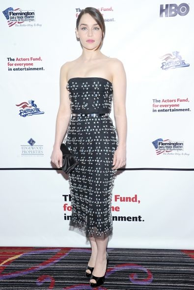 Emilia Clarke at The Actors Fund 2013 Gala