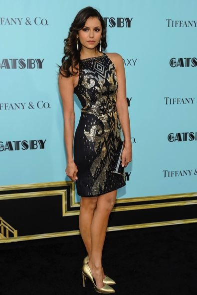 Nina Dobrev at the New York Premiere of The Great Gatsby