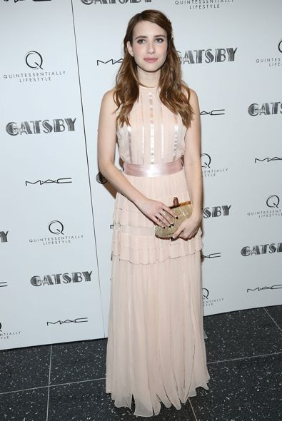 Emma Roberts at the Pre-Met Gala Screening of The Great Gatsby