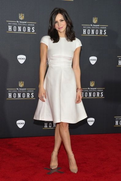 Katharine McPhee at the 2012 NFL Honors and Pepsi Rookie of the Year Event