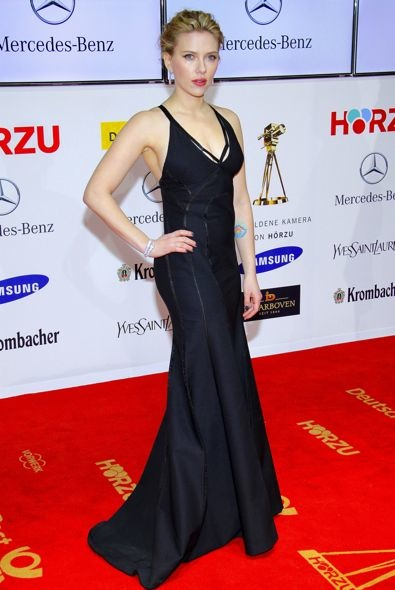 Scarlett Johansson at the 2012 Golden Camera Awards