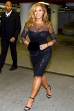 Beyonce Knowles at a Carnegie Hall Benefit Concert