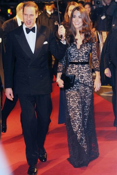 Catherine, Duchess of Cambridge at the London Premiere of War Horse