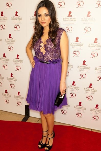 Mila Kunis at the St. Jude 50th Anniversary Benefit Gala 