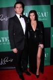 Kourtney Kardashian at the Chateau Nightclub & Gardens New Year's Eve Party
