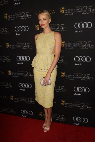 Charlize Theron at the BAFTA Los Angeles 18th Annual Awards Season Tea Party