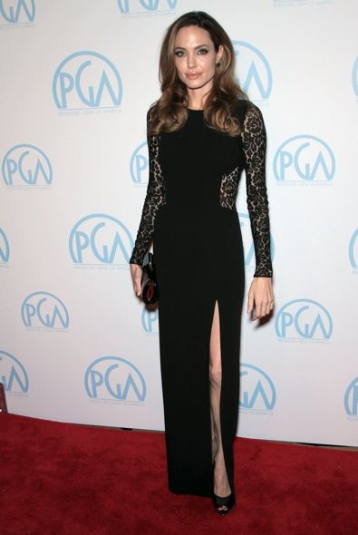 Angelina Jolie at the 23rd Producers Guild Awards
