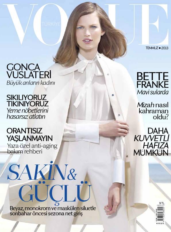 Vogue Turkey July 2013