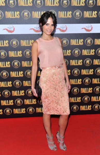 Jordana Brewster in Dolce & Gabbana