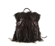 Black Night Fringe Marlena Backpack