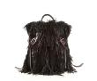 Black Night Fringe Marlena Backpack