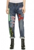 Buy: Marc by Marc Jacobs Patched Boyfriend Jeans