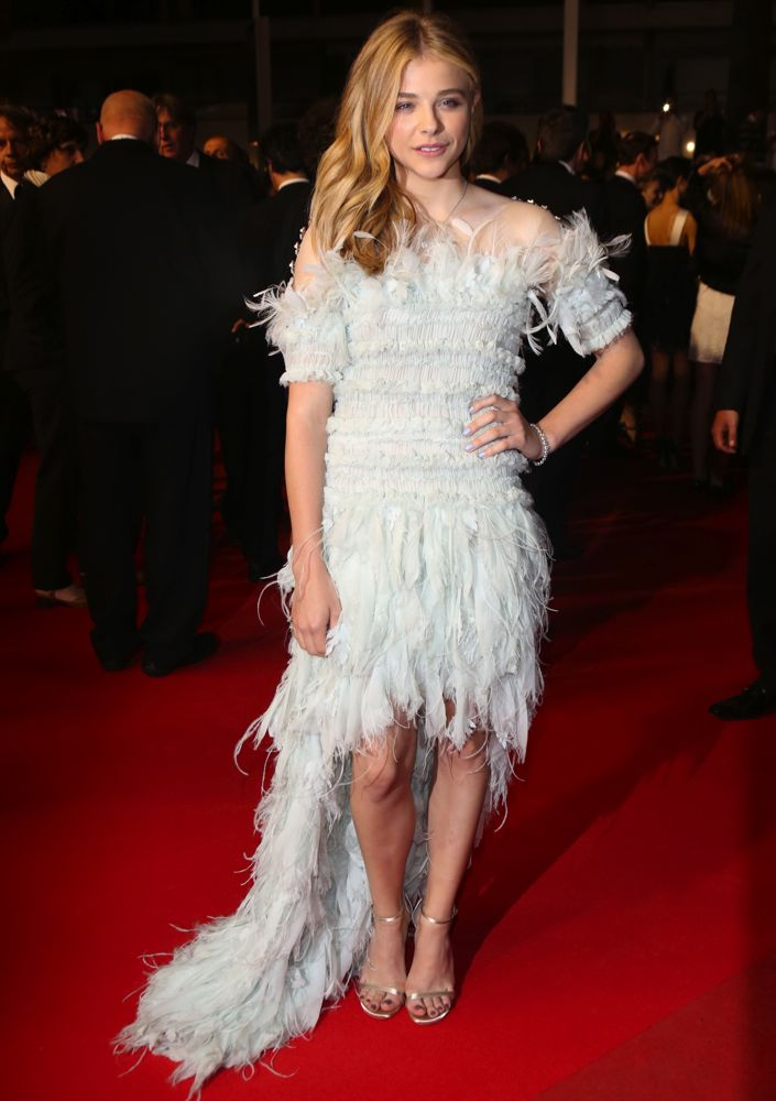 Chloë Grace Moretz at the Premiere of Clouds of Sils Maria