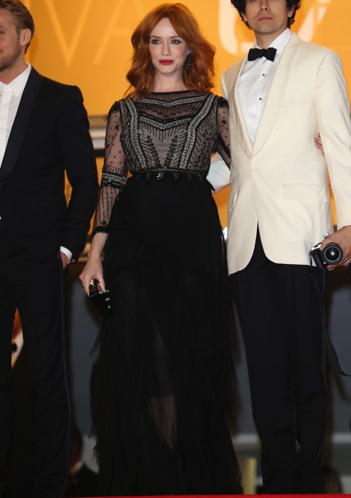 Christina Hendricks at the Premiere of Lost River