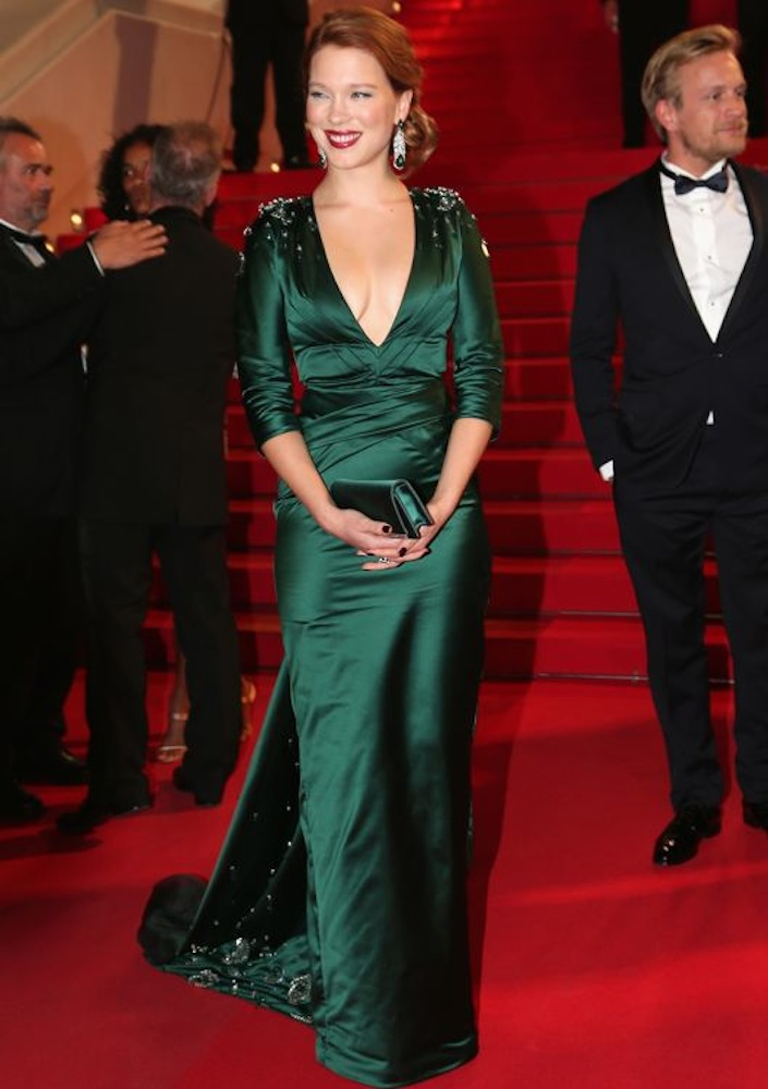Léa Seydoux at the Premiere of Saint Laurent