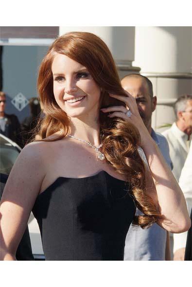 Lana Del Rey's Sexy Siren Locks