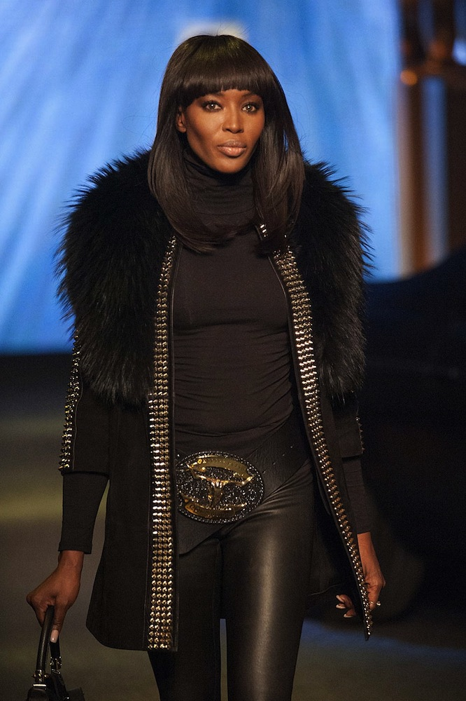 Naomi Campbell at Philipp Plein
