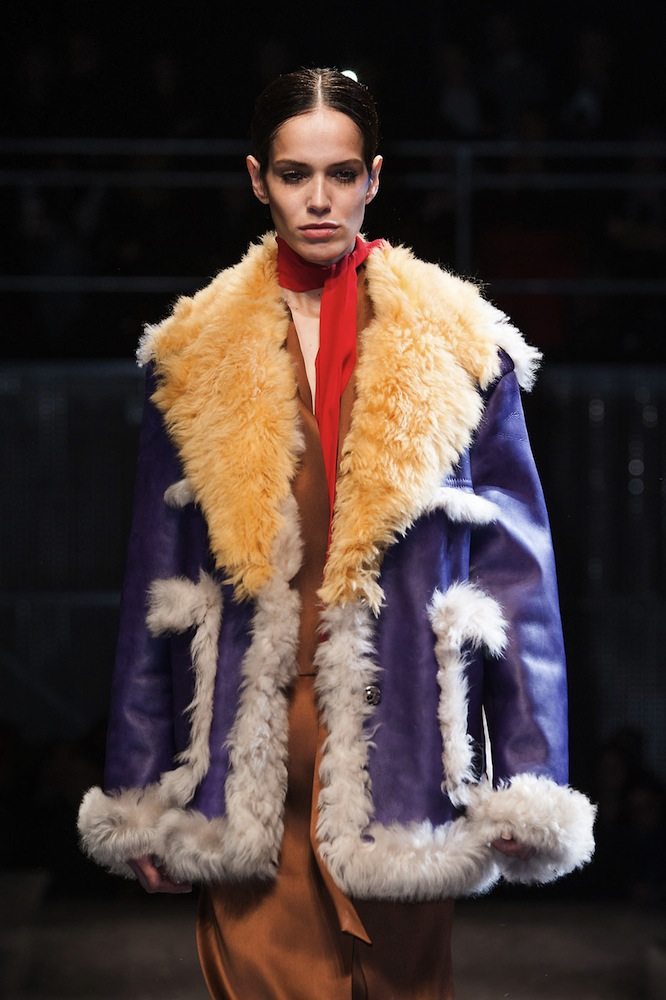 Prada Does Colorful Fleece