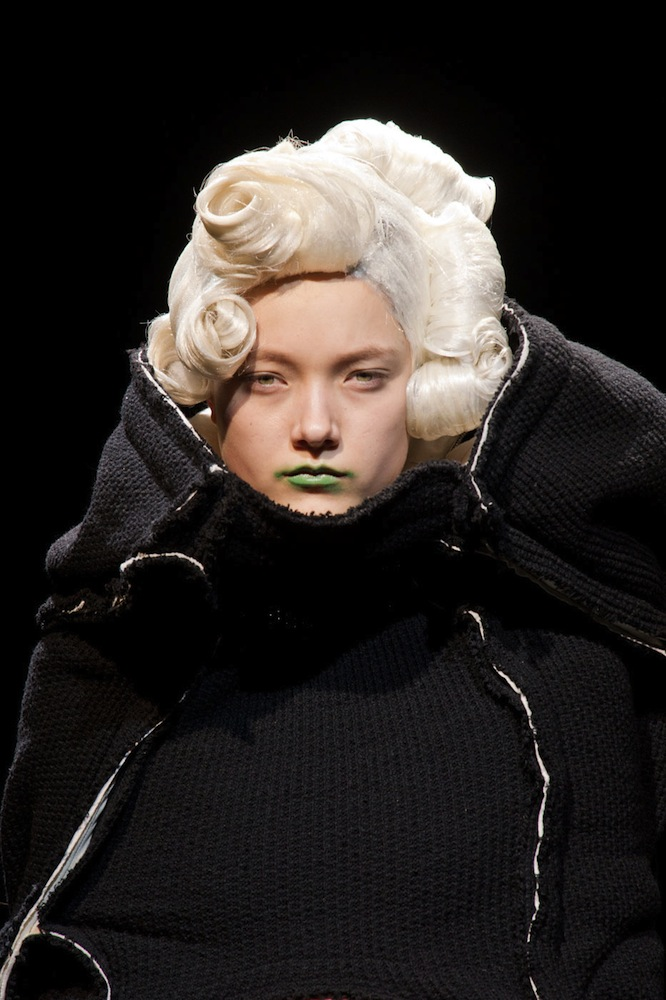 Green Lips at Comme des Garcons