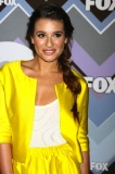 Lea Michele's Relaxed Braid