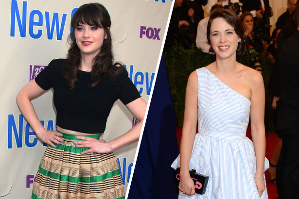 Zooey Deschanel Goes Bang-less