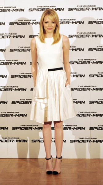 Emma Stone in Jason Wu