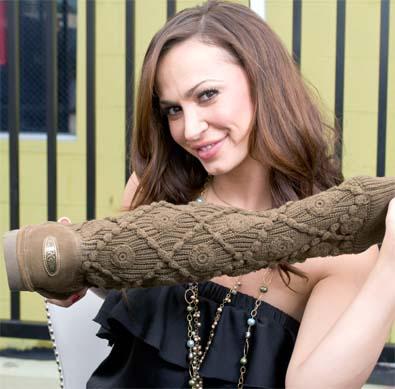Karina Smirnoff for Bear Paw