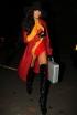 Naya Rivera at Kate Hudson's Pre-Halloween Party
