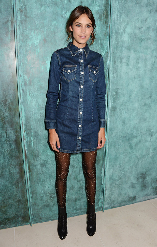 How To Wear A Denim Dress TheFashionSpot