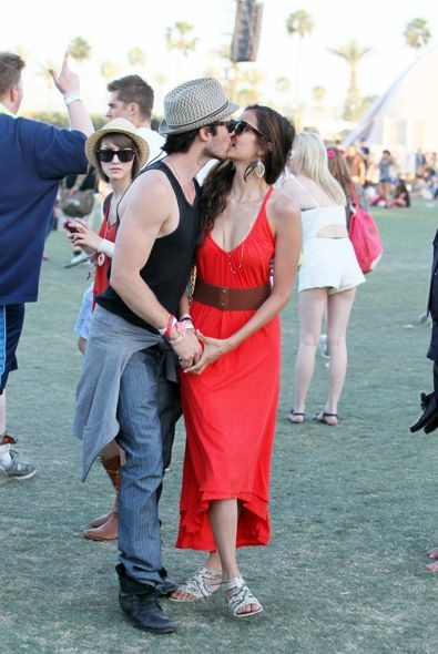 Nina Dobrev and Ian Somerhalder Day 3