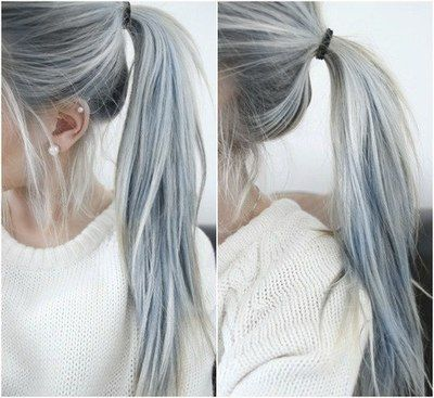 35 cool hair color ideas to try in 2017 thefashionspot faded denim urmus Image collections