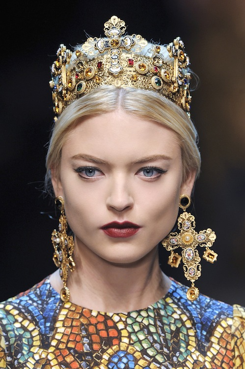 Dolce & Gabbana's Matte Vampy Pout