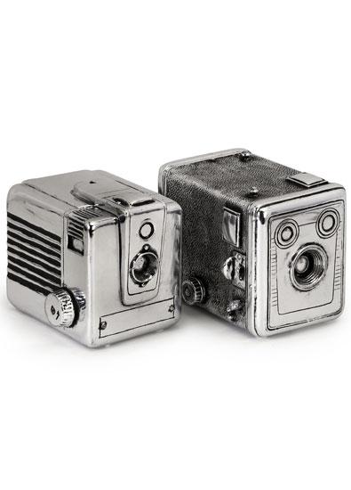 Vintage Camera Box Bookends