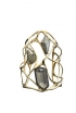 Liquid Gold Large Pyrite Doublet Interlaced Cuff