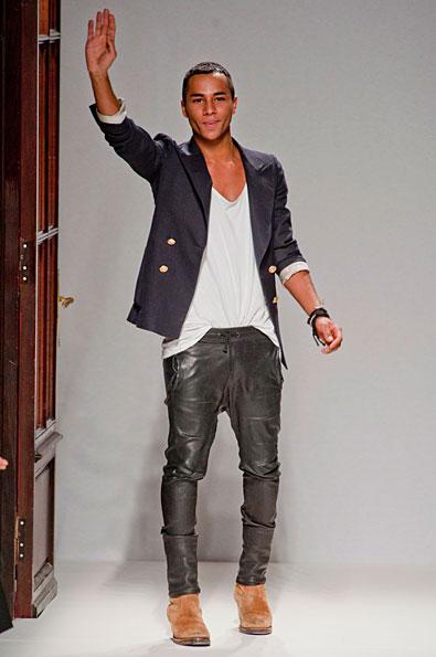 Men Fashion Designers Olivier Rousteing of Balmain