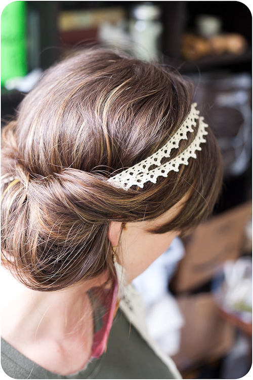 Double Strand Lace Headband