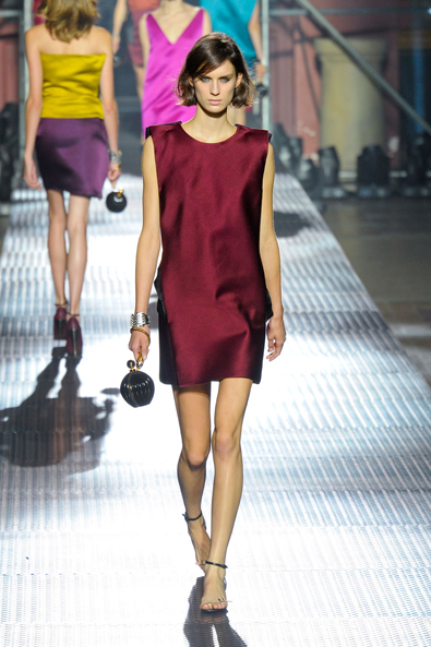 Jewel Tones at Lanvin