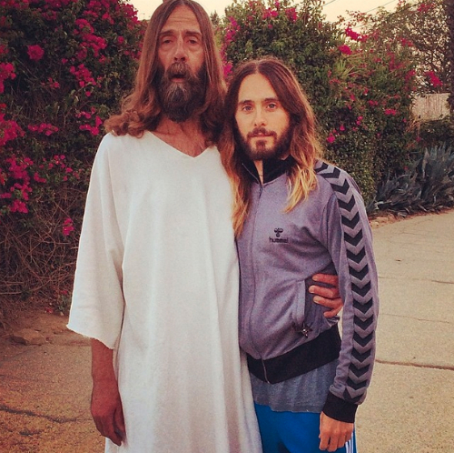 Jared Leto actually finds Jesus