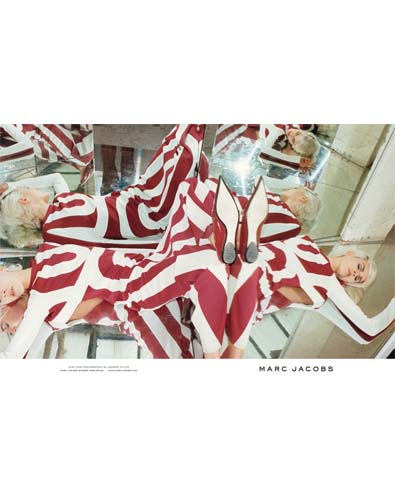 Marc Jacobs' Bombardment of Checks and Stripes