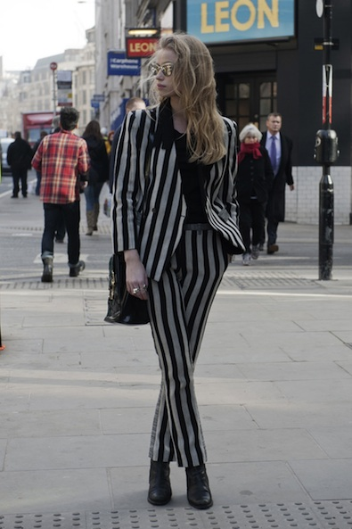 Suiting Up in Stripes