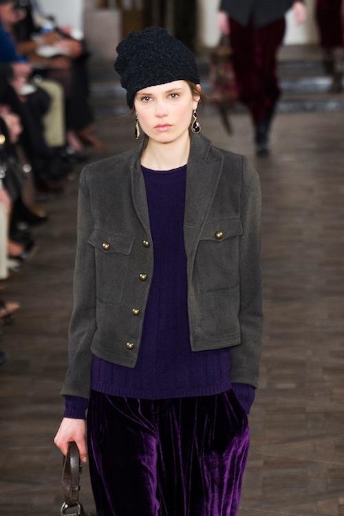 Royal Purple: Ralph Lauren