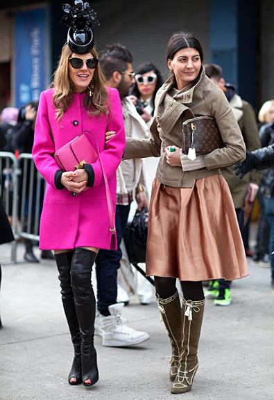 Anna Dello Russo &amp; Giovanna Battaglia